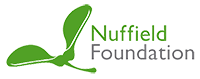 Footer nuffield foundation