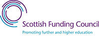 Footer scottish funding council