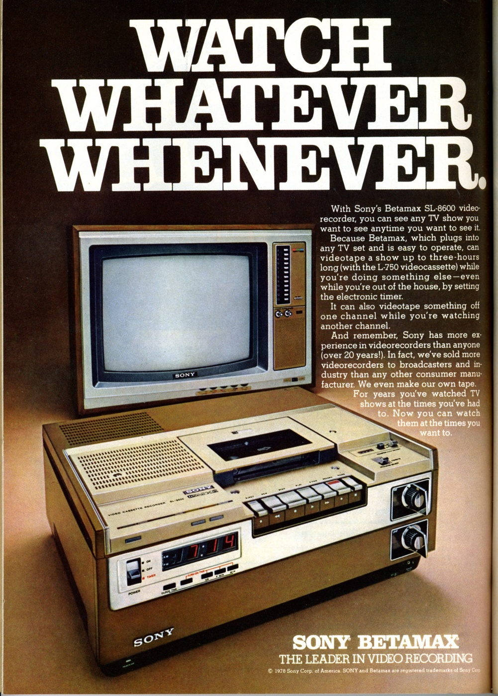 The end of sonys betamax video tape but the format wars continue betamax battles uptake and legality publicscrutiny
