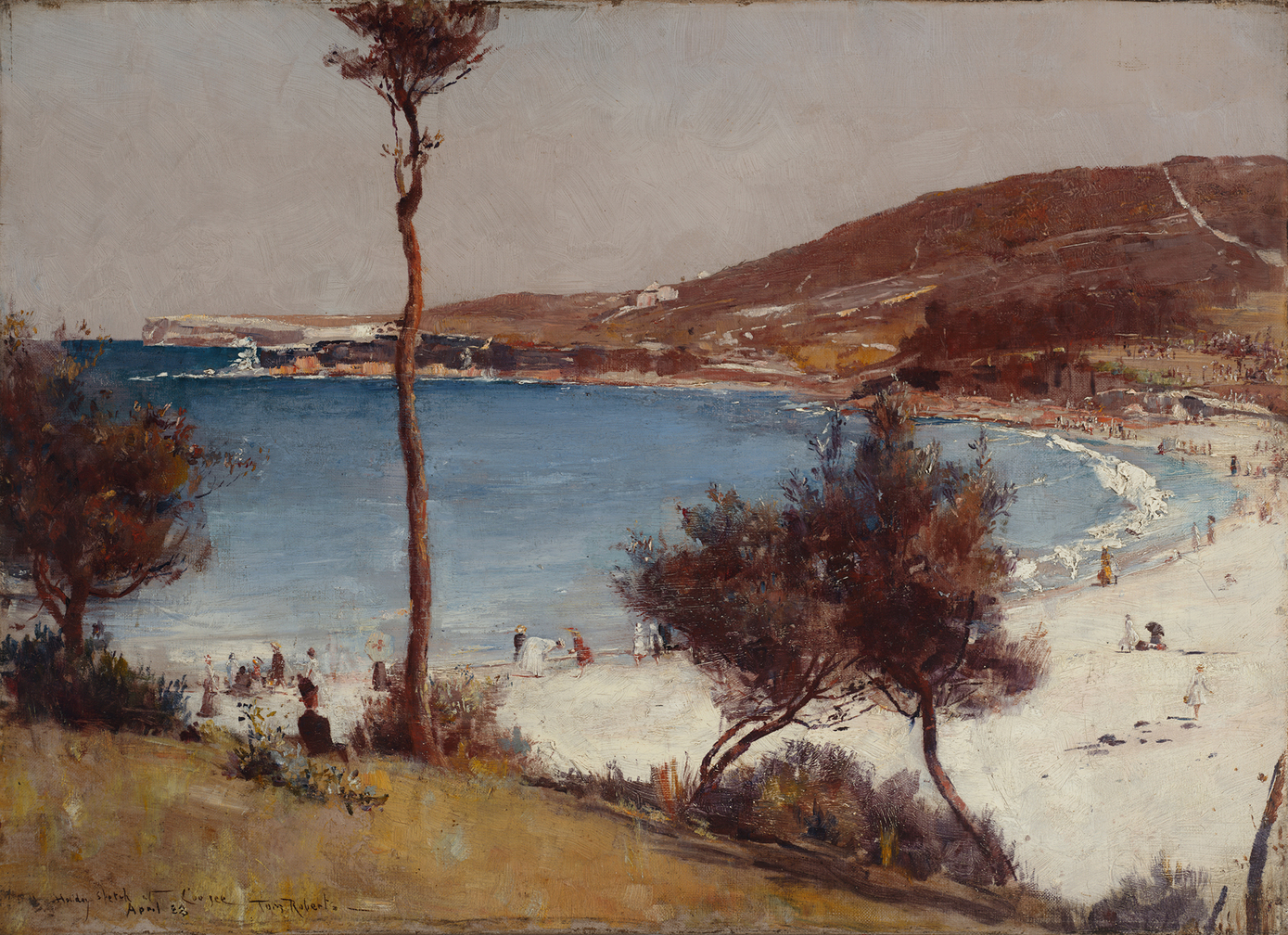 Tom roberts anyone a national survey finds the line in for Australian mural artists