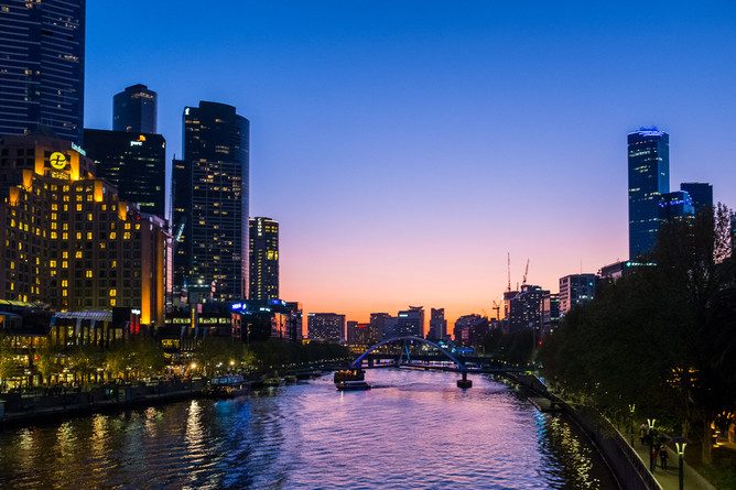 Melbourne, with the Yarra River, needs to adapt to rising sea levels