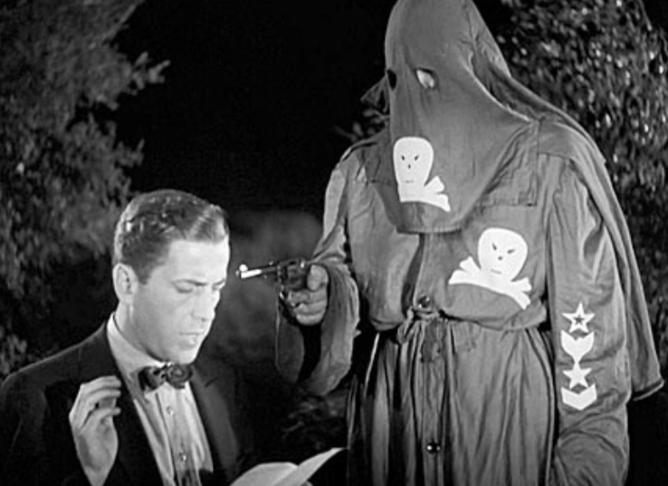 Bogart meets a Klan-like group in Black Legion