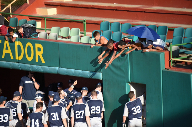 The Nittany Lions won some fans during their visit to Cuba. Kelsie Netzer/John Curley Center