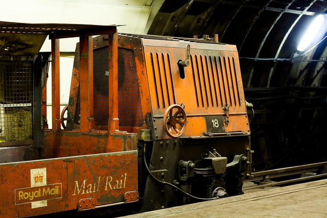 Reopening London's mail rail: on the thrill of urban ruins
