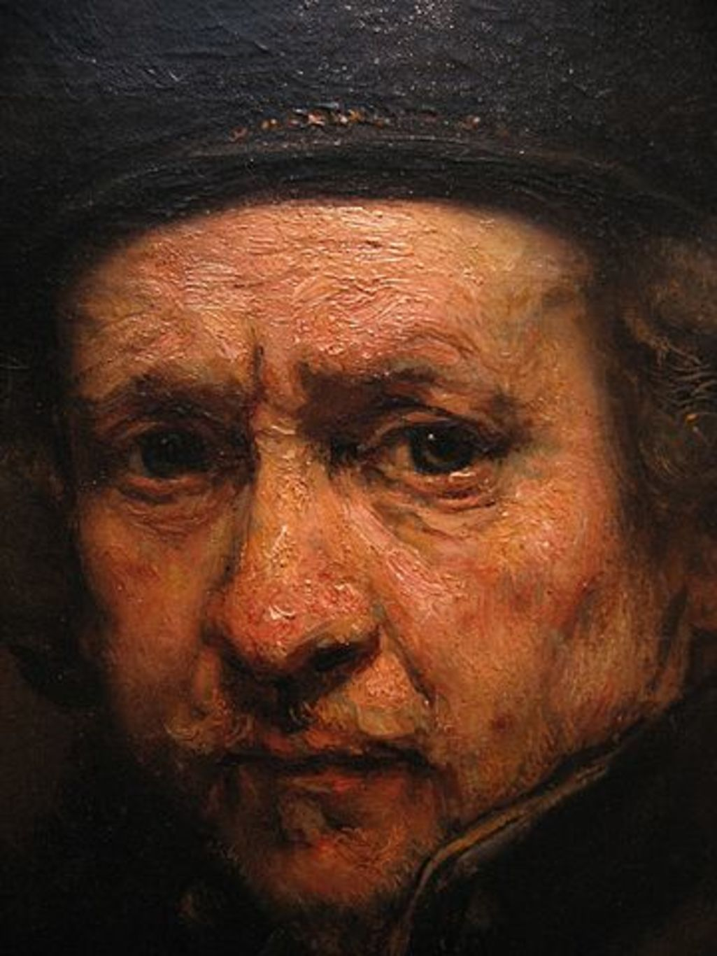 Rembrandt Harmenszoon Van Rijn: Why Do Some Old Men Have Big Red Noses? No, It's Not Alcohol