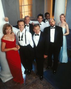 The cast of West Wing have very different character descriptions. Image: Warner Bros.