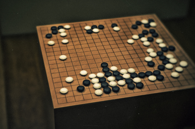 Go is a famously complex game. Linh Nguyen/Flickr, CC BY-NC-ND