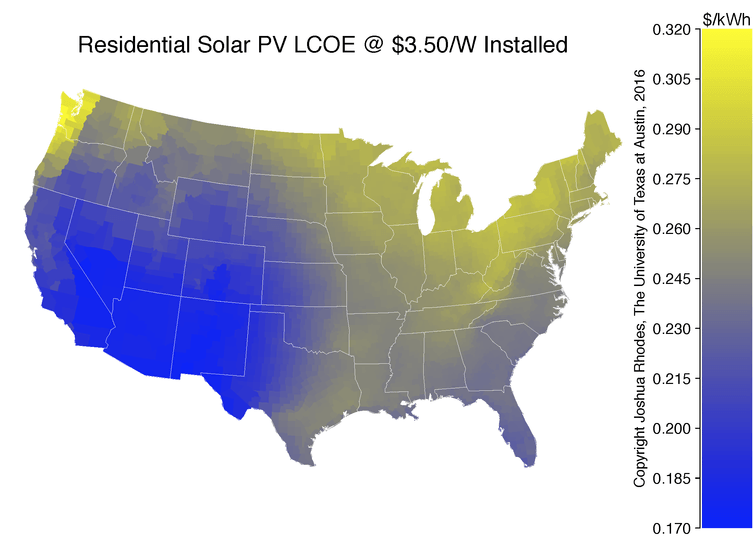 When Will Rooftop Solar Be Cheaper Than the Grid