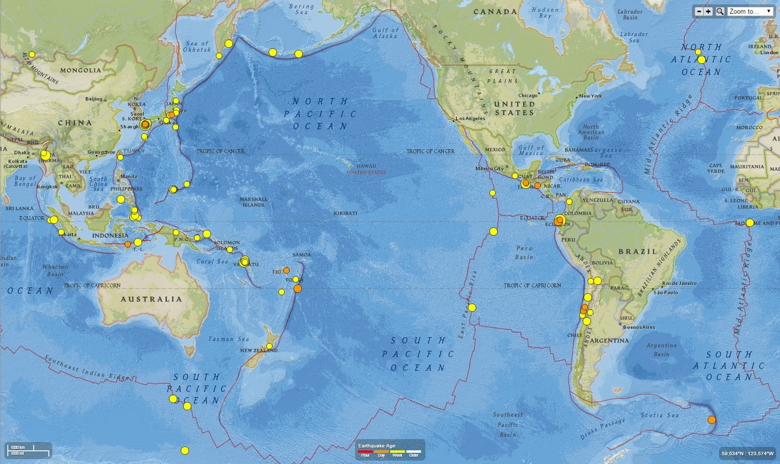 Sciblogs are the japanese and ecuador earthquakes related remotely triggered earthquakes gumiabroncs Images