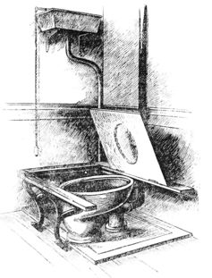 A 19th-century 'water closet.' Wikimedia Commons
