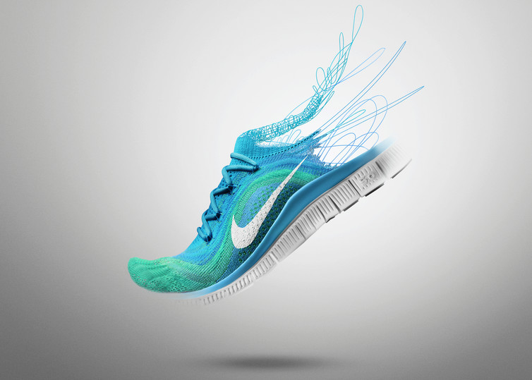 Clean Nike Free Shoes