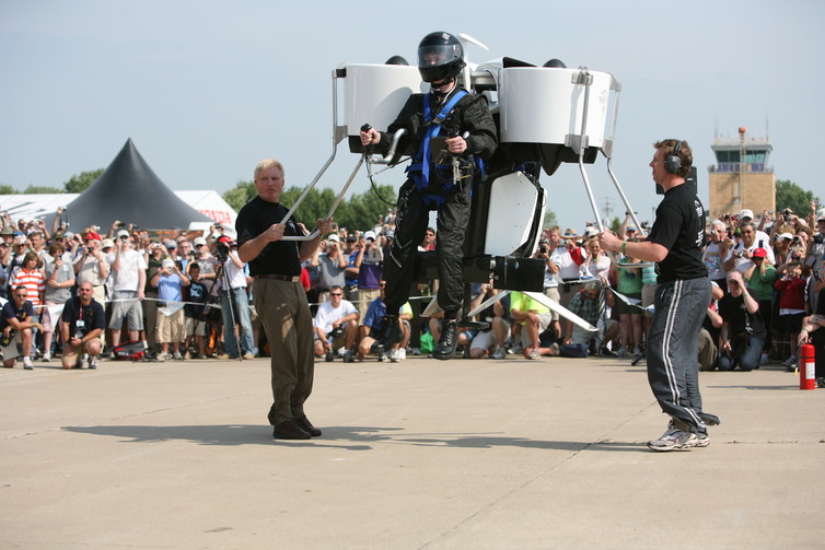 Sci-fi innovation: Martin Jetpack