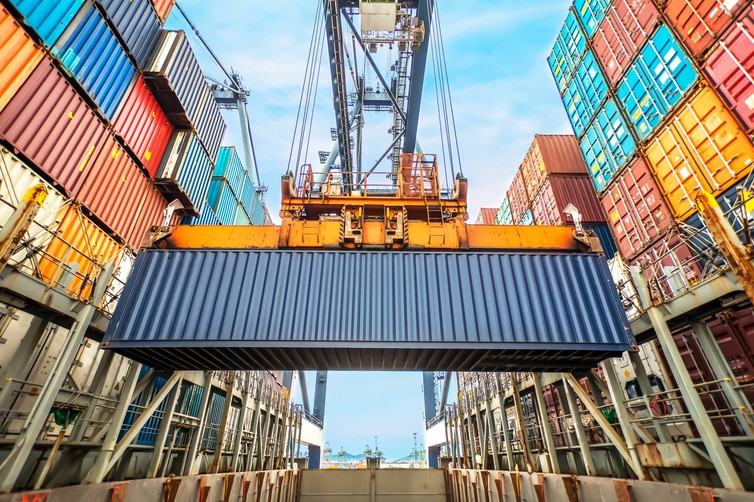 The shipping container has radically transformed international trade since the 1960s. Photo: Shutterstock