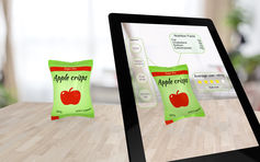 Augmented reality can provide additional information to shoppers. Augmented reality image via shutterstock.com