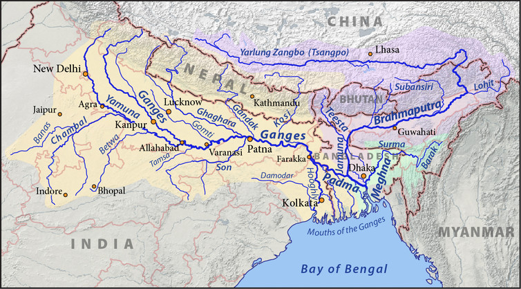 China and Indias Race to Dam the Brahmaputra River Puts the