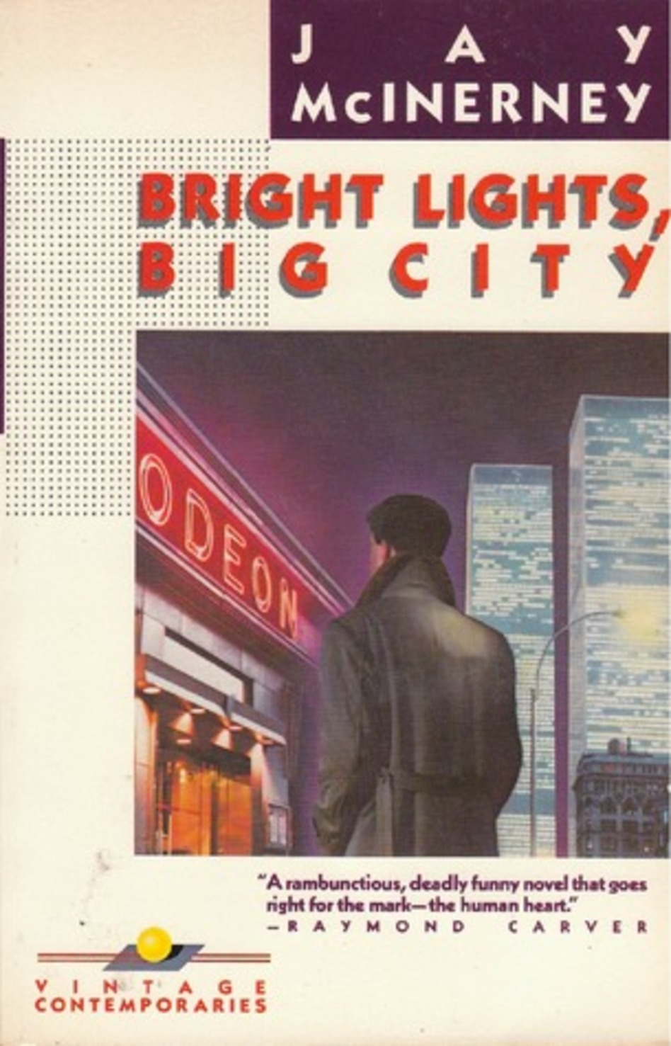 writing at the bookshelf jay mcinerney bright lights big city 1984 vintage