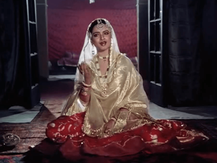 Umrao Jaan, was a famous singer-courtesan of the 18th century, immortalised by Bollywood actress Rekha in 1981.