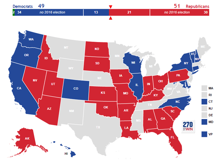 US Election Predictions Swinburne News - Us electoral map prediction