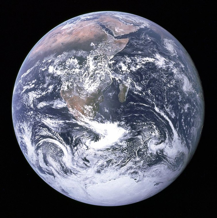 The Blue Marble photograph.