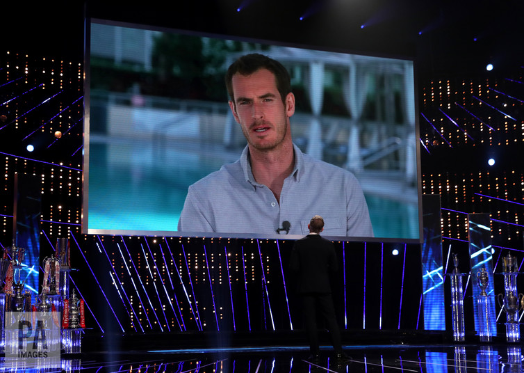 Andy Murray makes history with third BBC SPOTY win