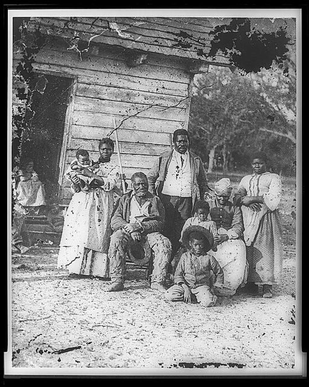 A look at the state of slavery in the south