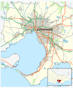 The Melbourne suburb of Richmond