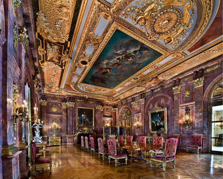 Going For Gold Donald Trump Louis Xiv And Interior