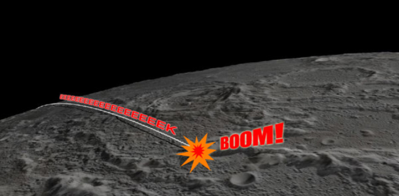 NASA crashes GRAIL into the moon after productive mission