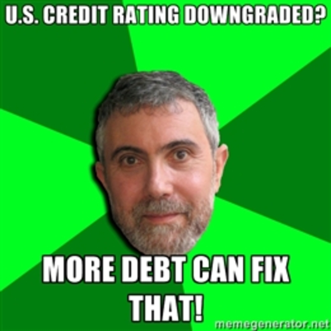 Bad Advice Krugman. | Know Your Meme