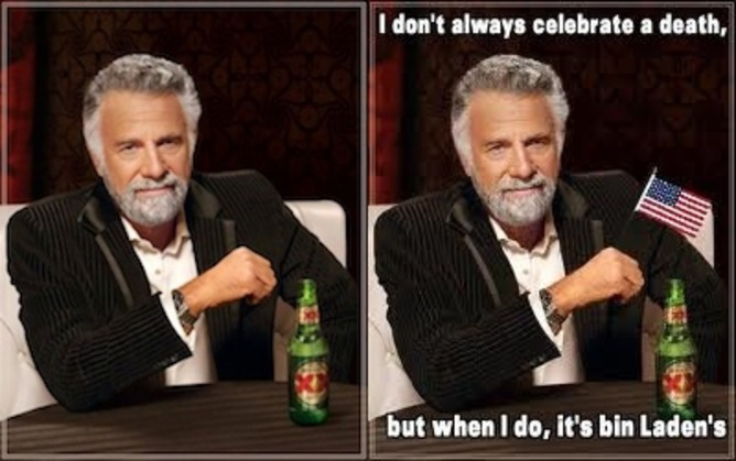 'I don't always …' Dos Equis campaign imagery. | Know Your Meme