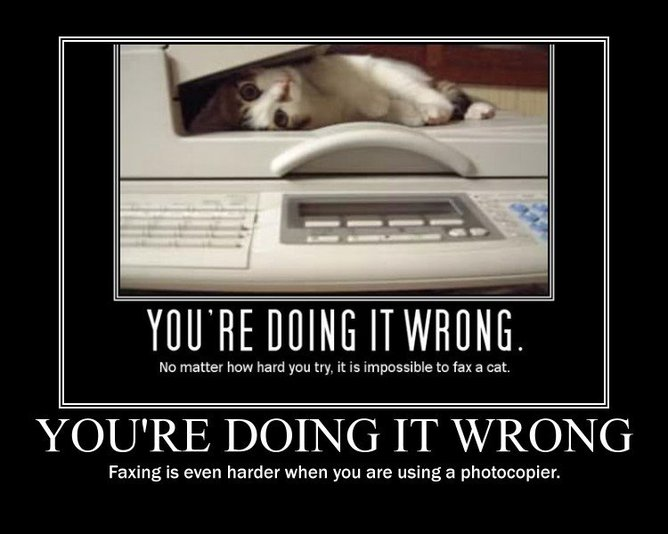 You're doing it wrong. | funnyjunk