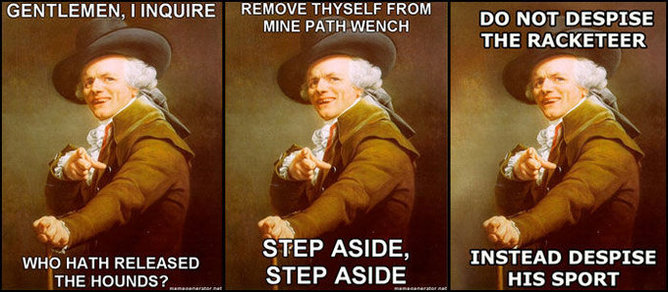 Joseph Decreux 18th Century-Rap mashup meme. | Know Your Meme