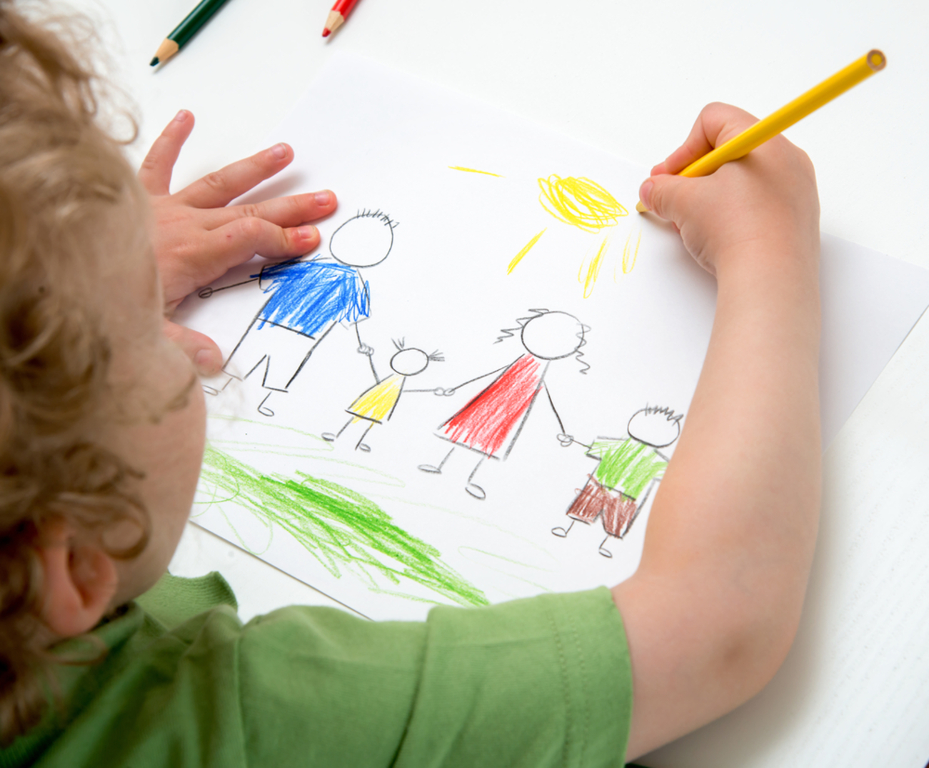drawing improves writing - Kid Drawing Picture