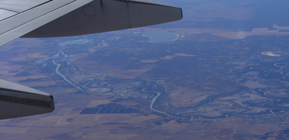 Spending on water-saving infrastructure could expose Murray-Darling farmers to debt and drought. Photo: Michelle Bartsch/Flickr, CC BY-NC-ND