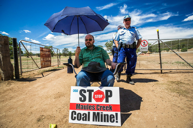 Is spying on anti-coal activists just the tip of the iceberg?