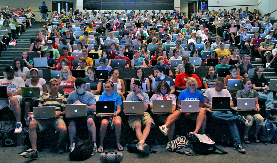 Students laptops