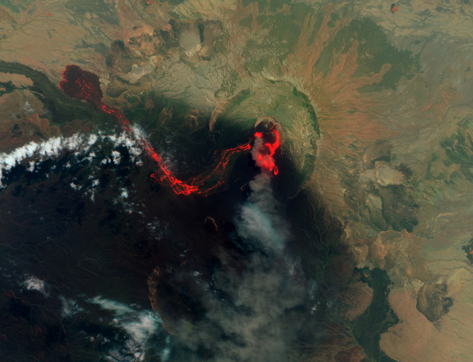 7fj5pkkz 1407462394 Ethiopia: Scientists at work counting volcanoes eruptions