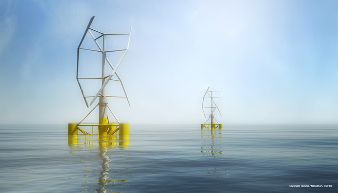 s this the future of offshore wind? INFLOW / Technip / Nenuphar / EDF