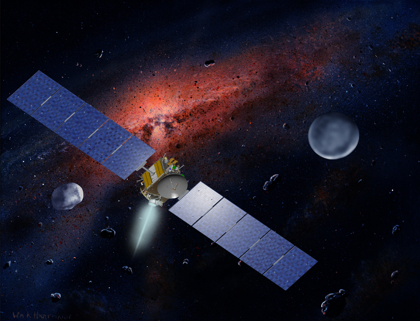NASA missions may re-elevate Pluto and Ceres from dwarf ...