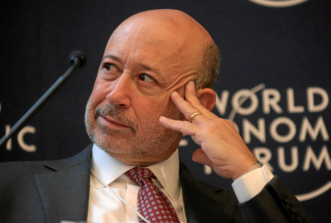 Prophet of doom? Lloyd Blankfein