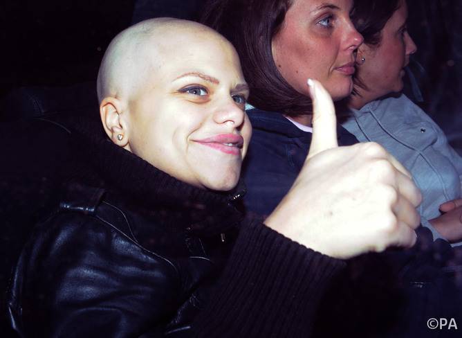 Jade Goody, who lived and died in the public eye.
