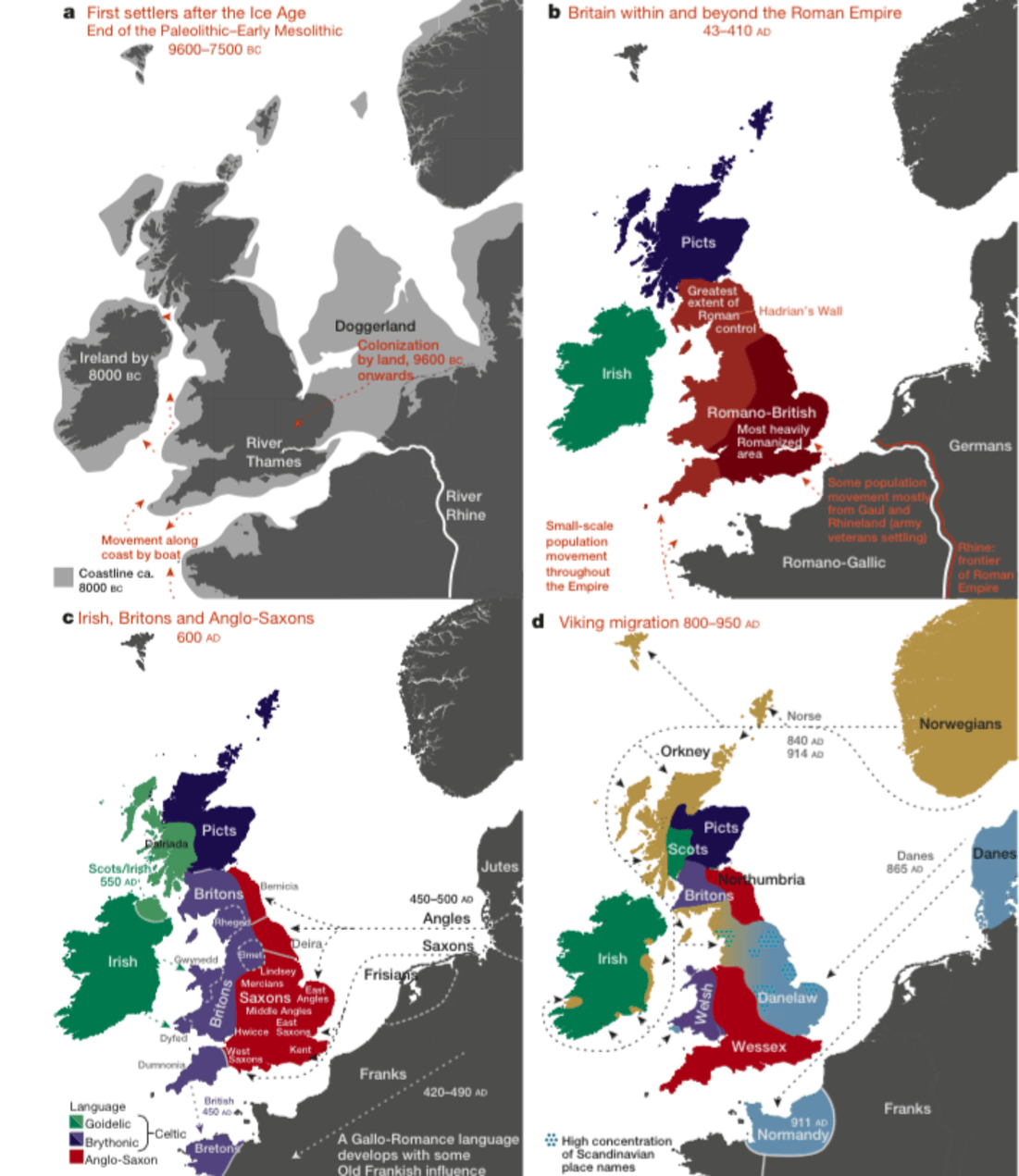 Map Of England 2015.Who Do You Think You Are Most Detailed Genetic Map Of The British