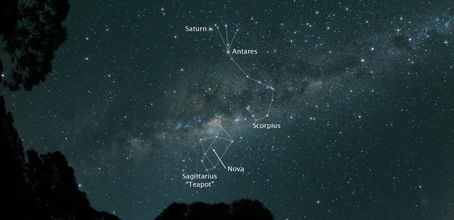 New Star in Sagittarius 2015