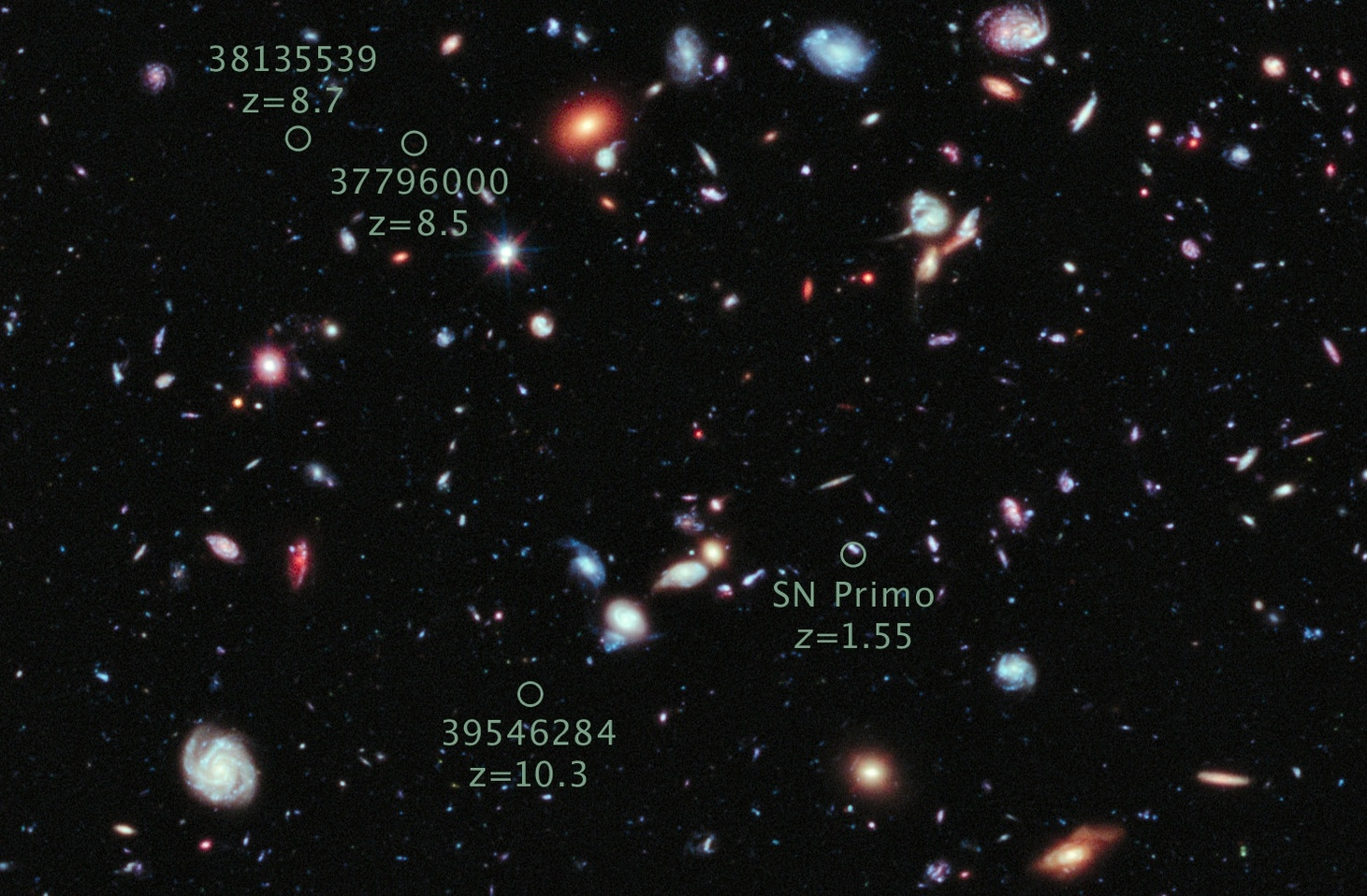 Hubbles Deep Field Images Of The Early Universe Are Postcards From Infrared Video A Hovering Nasa Lander Billions Years Ago Iflscience
