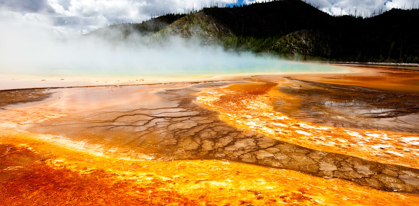 yellowstone earthquakes reveal a volcanic system six times