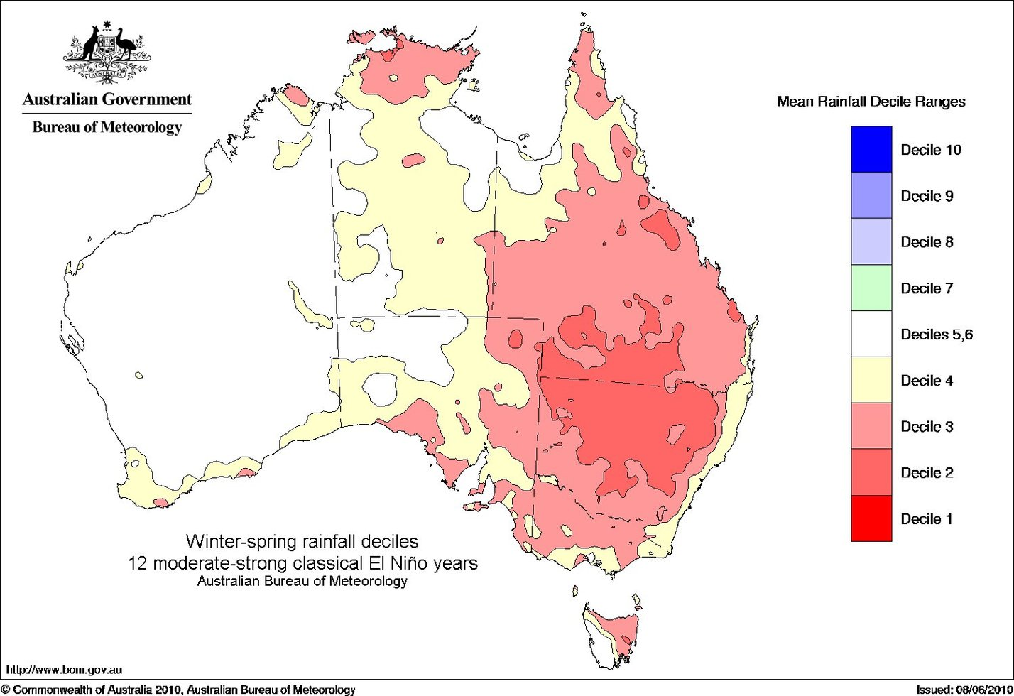 Bureau of meteorology we 39 re calling it the 2015 el nino is here gizmodo australia - Meteorology bureau australia ...
