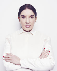 Marina Abramović. Image courtesy of Museum of Old and New Art, Hobart