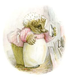 caption:Beatrix Potter's Mrs Tiggy-Winkle Sofi, CC BY-NC