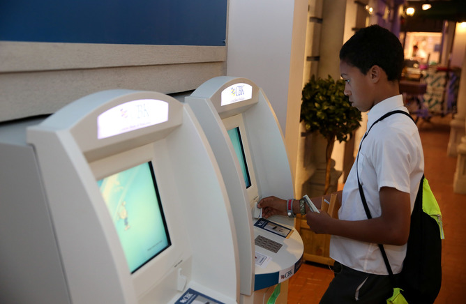 Using The Bank Kidzania